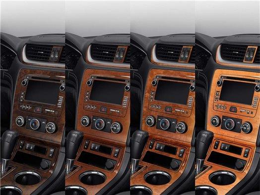 MERCEDES MRD-16D Mercedes Benz C Class 2001-2004 2 Doors, OEM Compliance, W/O Power Seats BD Décoration de tableau de bord